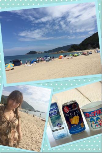 若狭湾(福井県)の水晶浜へ海水浴