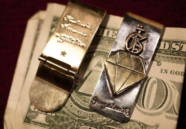 GANGSTERVILLE galcia×GSV Money Clip