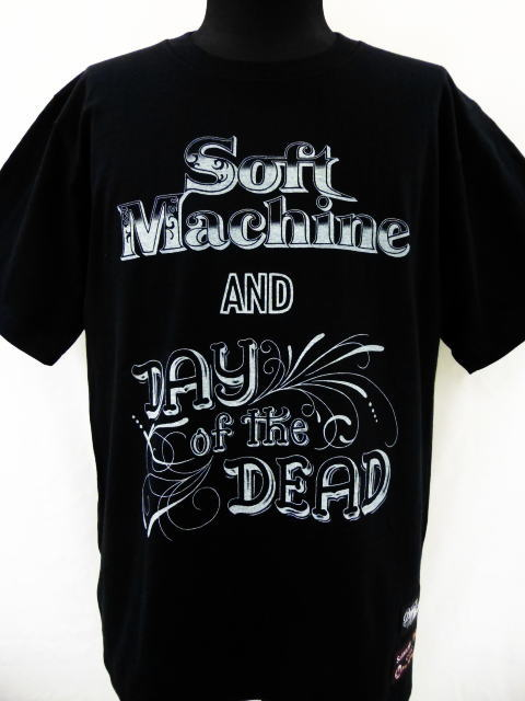 SOFTMACHINE×DAY OF THE DEAD LADY OF JUSTICE-T