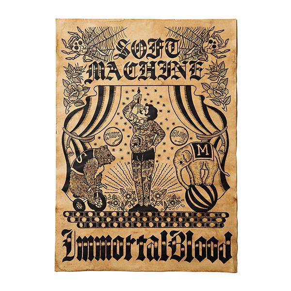 SOFTMACHINE SIDE SHOW POSTER