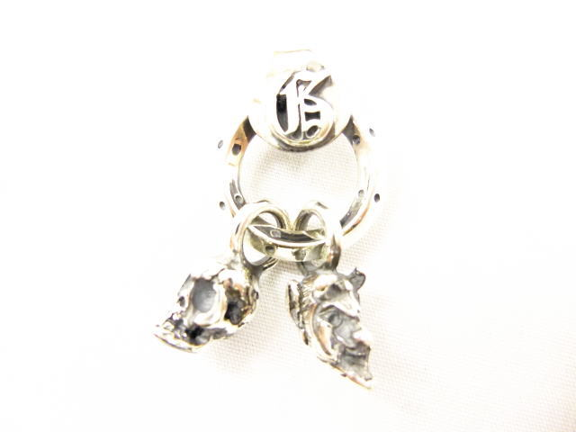 GANGSTERVILLE galcia×GSV PENDANT HEAD SILVER925