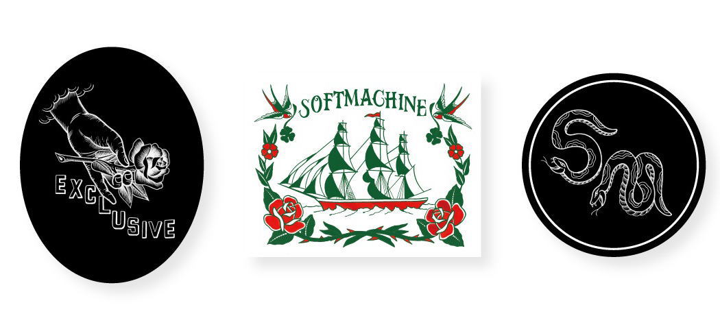 SOFTMACHINE STICKER SET