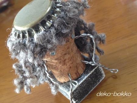 コルク人形 ロングヘアー