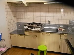 旧居・キッチン