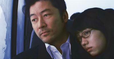 熊切和嘉 『私の男』 主役の浅野忠信と二階堂ふみ。殺人を犯したふたりは逃亡生活に入る。
