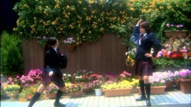 こちらは実写版『花とアリス』の一場面。これとまったく同じ場面が再現される。