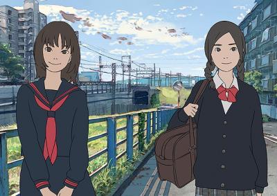 岩井俊二 『花とアリス殺人事件』 花とアリスのキャラはアニメとなって再登場。