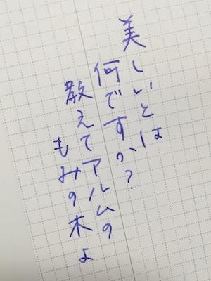 名月書き書きジブン手帳IDEA