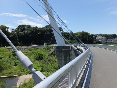 下飯田遊水地・鷺舞橋