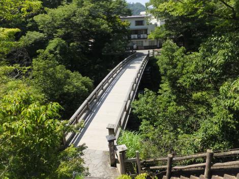 日本三大奇橋・猿橋
