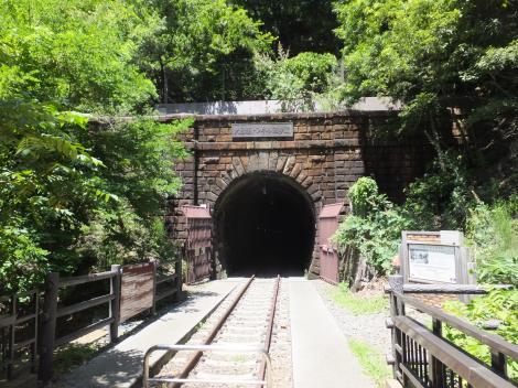 大日影トンネル遊歩道ワインカーヴ口