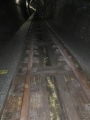 大日影トンネル遊歩道・開渠水路