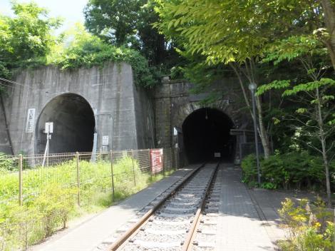 中央本線旧大日影トンネル