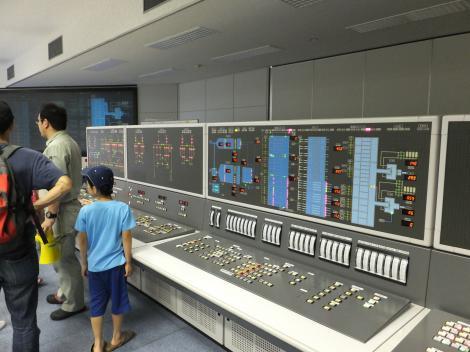 柳島管理センター中央監視室