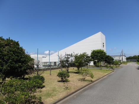 柳島管理センター・沈砂池ポンプ棟