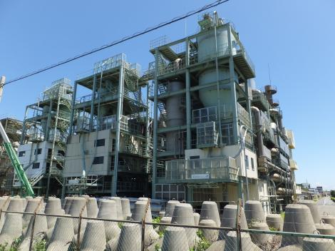 柳島管理センター・汚泥焼却炉