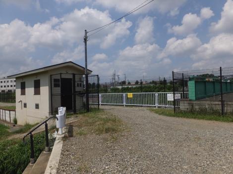 境川高飯堰操作室