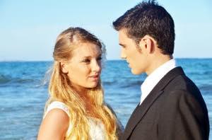 海でのデートで彼女にがっかり!?