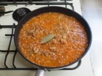 野菜ジュースで作るミートソー28