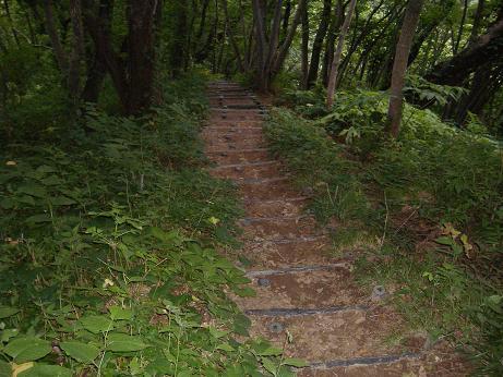 階段山道20150820