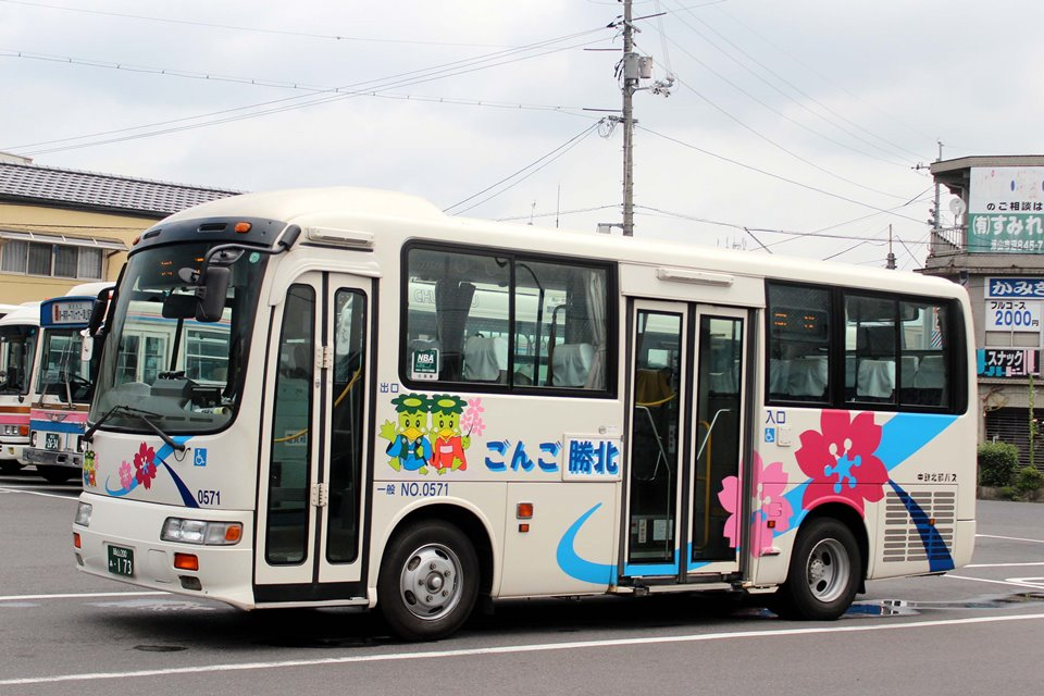 中鉄北部バス 0571
