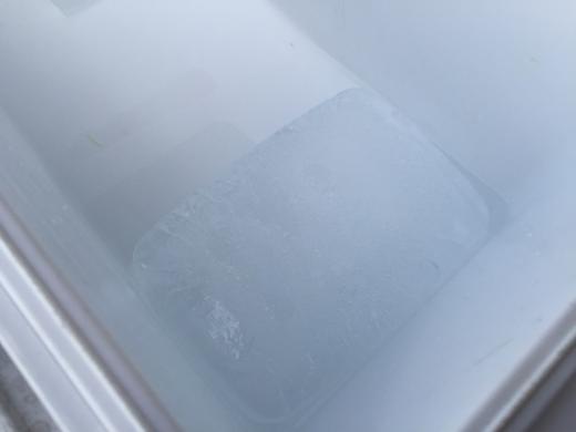 20150207_クーラーボックスの氷