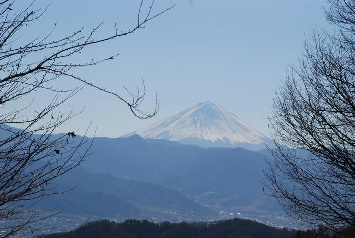 青空と富士山73