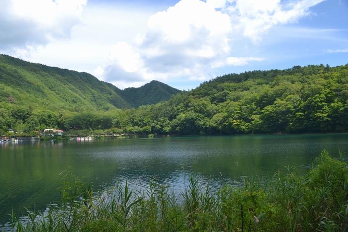 四尾連湖湖水11