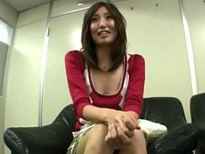 セックスしてくれないダンナに愛想をつかしたモデル妻が秘密のAV面接☆