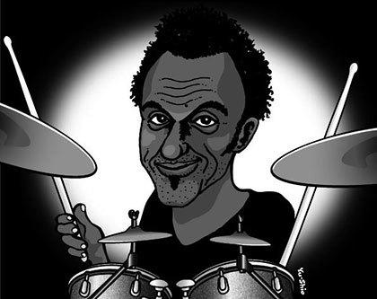 Manu Katche caricature likeness