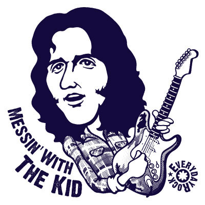 EverydayRock T Shirt Rory Gallagher caricature