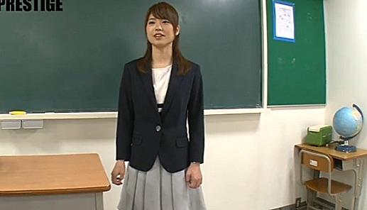 【榎本南那】清純な中学校教諭がまさかのAVデビュー!