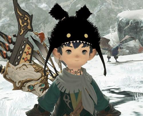 ノノちゃんが被ったスプリガンの帽子