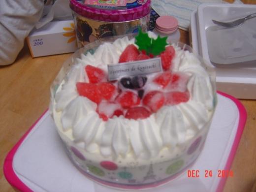 5今年はアイスケーキ