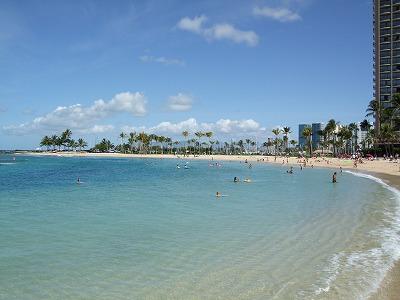s-ハワイの海①