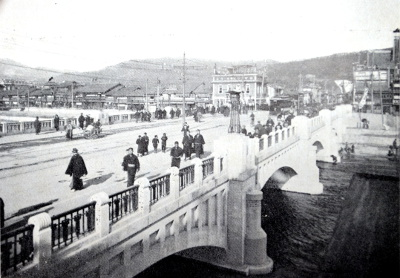 『新撰京都名勝誌』より四条大橋