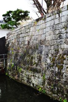 東本願寺石垣