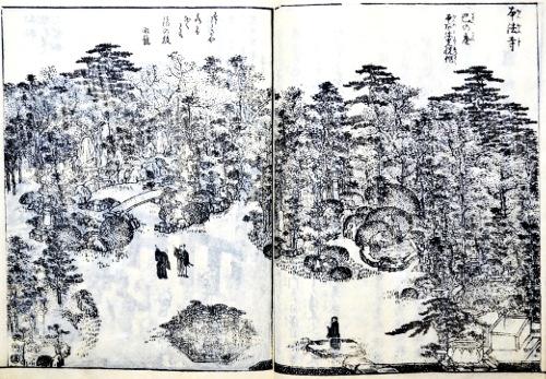 「都林泉名勝図会」より「本法寺」