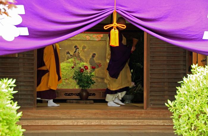 110503a久米寺「二十五菩薩練供養会式」