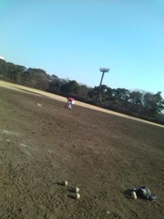 冬の草野球