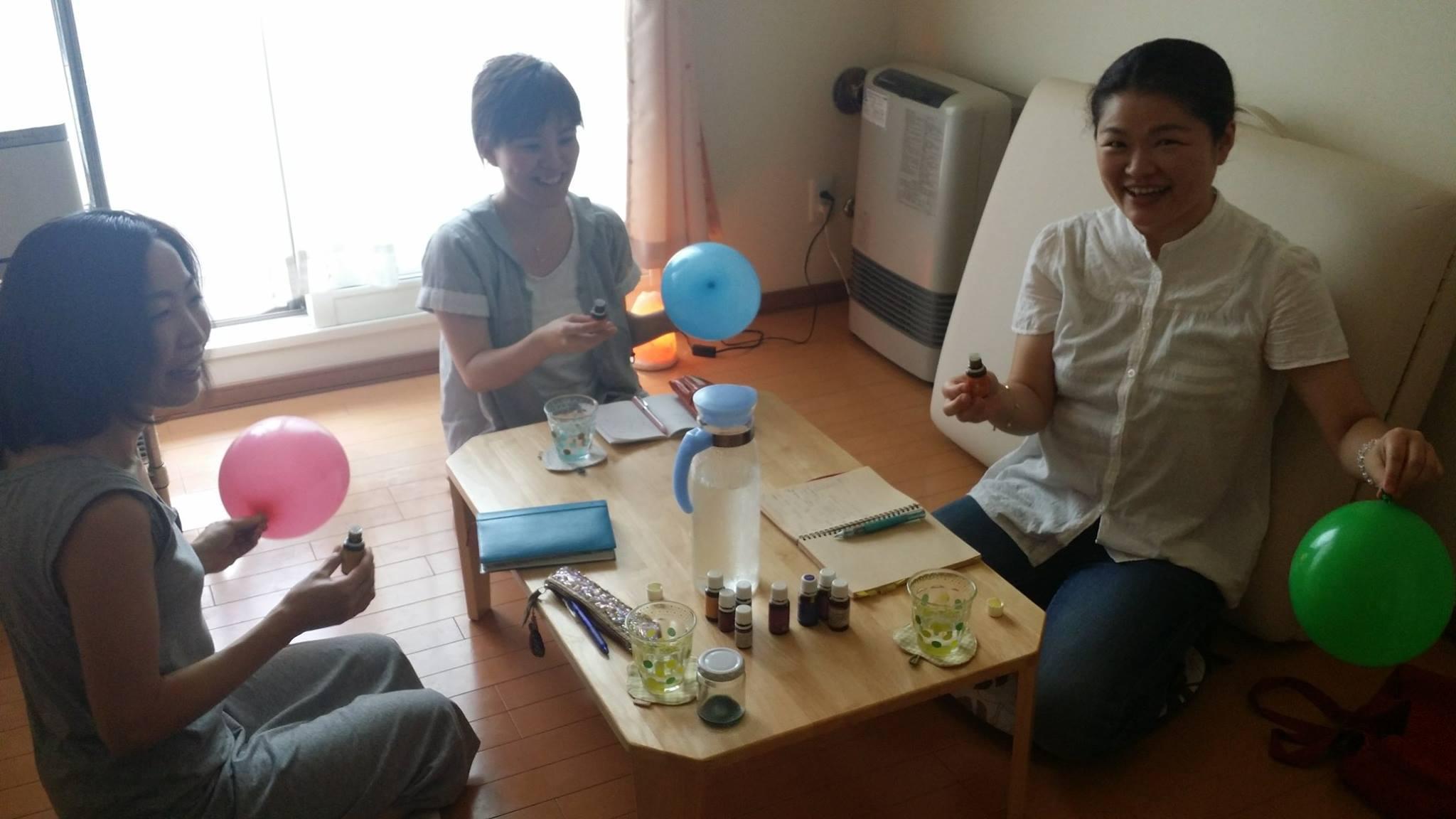 パーカスシェア会-風船実験