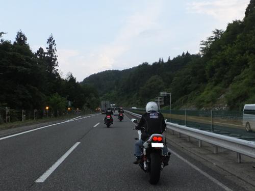 愛知県のツーリングクラブ 高山 甚五郎ラーメ22