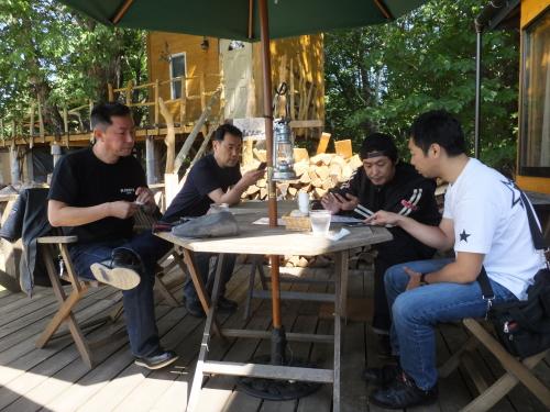 愛知県のツーリングクラブ 開田高原 Cafe KaZe 14