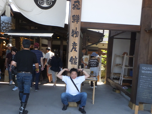 愛知県のツーリングクラブ 高山 甚五郎ラーメ4