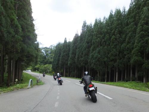 愛知県のツーリングクラブ 高山 甚五郎ラーメ11