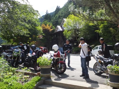 愛知県のツーリングクラブ 高山 甚五郎ラーメ14