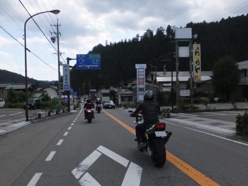 愛知県のツーリングクラブ 高山 甚五郎ラーメ18