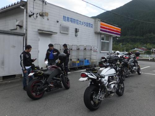 愛知県のツーリングクラブ 高山 甚五郎ラーメ19
