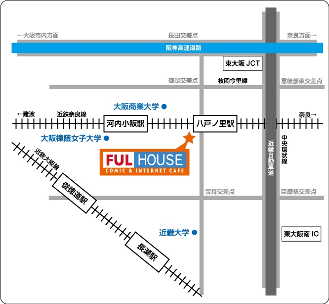 Fulhouse Map