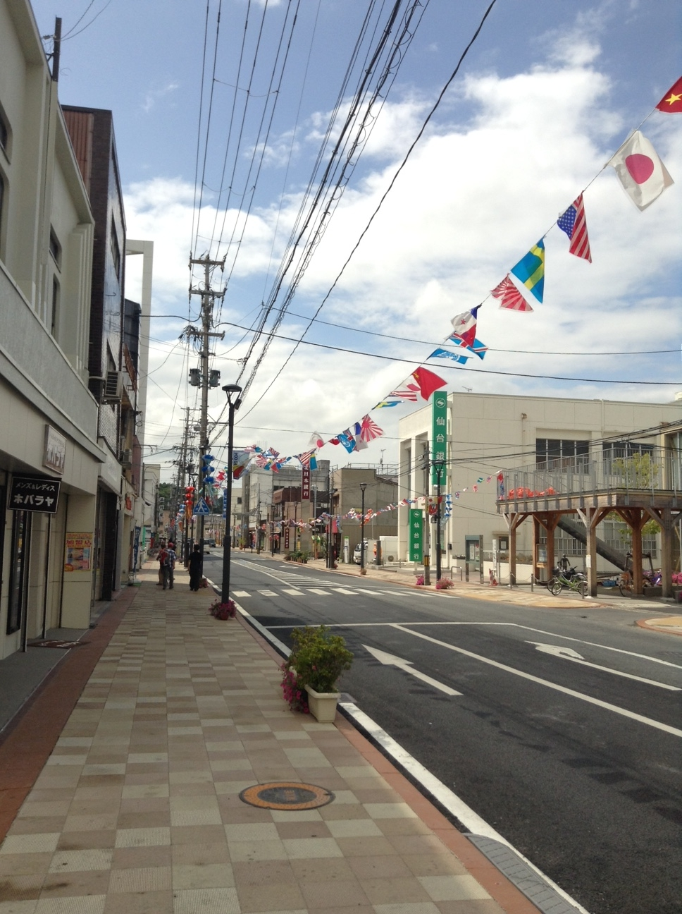 石巻駅前商店街